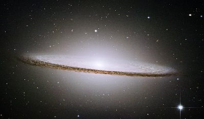 M104 The Sombrero Galaxy by the Hubble Space Telescope (NASA, The Hubble Heritage Team (AURA/STScI))
