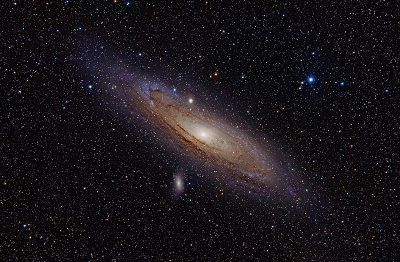 M31 The Andromeda Galaxy (credit:- Adam Evans)
