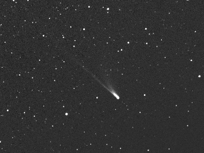 Comet 96P/Machholz from HI-2 camera of STEREO-A spacecraft (NASA/ Johns Hopkins University)