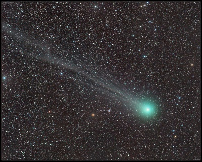 Comet C/2014 Q2 Lovejoy on February 21, 2015 (Damian Peach - www.damianpeach.com)