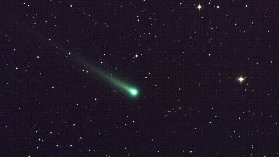 Comet ISON (C/2012 S1) imaged in November 2013 (NASA)