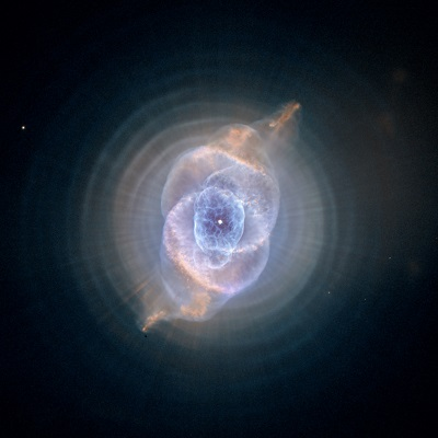 NGC 6543 The Cat's Eye Nebula by the Hubble Space Telescope (NASA, The Hubble Heritage Team (AURA/STScI))