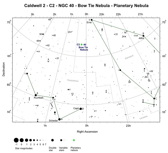 Finder Chart for C2 - NGC 40