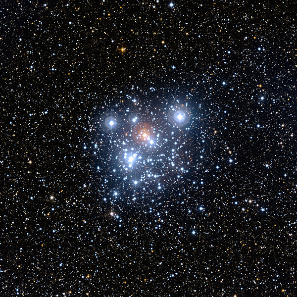 NGC 4755 Jewel Box Open Cluster (credit:- ESO La Silla Observatory)