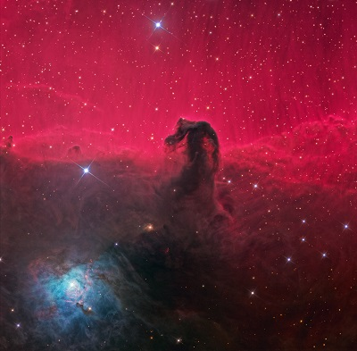 The Horsehead Nebula (credit:- Ken Crawford)