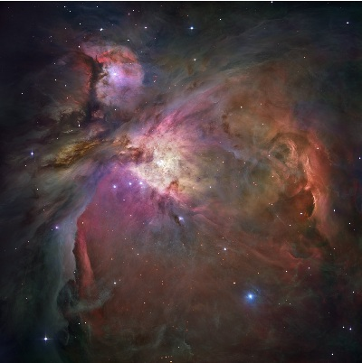 M42 The Great Orion Nebula (credit:- NASA, ESA, M. Robberto, Space Telescope Science Institute)