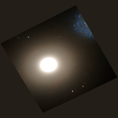 M60 Elliptical galaxy by the Hubble Space Telescope (credit:- NASA, The Hubble Heritage Team (AURA/STScI))