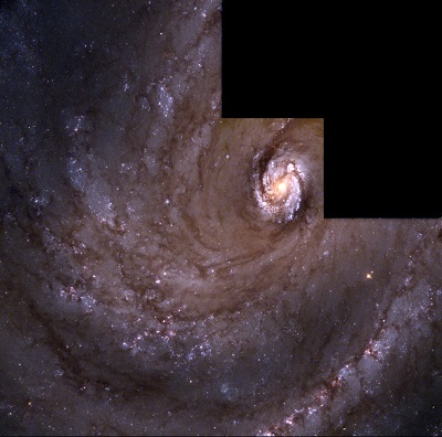 M100 Spiral Galaxy (credit:- J. Trauger/JPL/NASA/ESA)