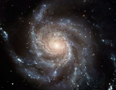 M101 The Pinwheel Galaxy (credit:- NASA/ESA/NOAO/AURA/NSF)
