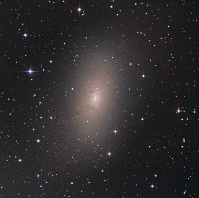 M110 Dwarf elliptical galaxy (credit:- Johannes Schedler - Panther Observatory - www.panther-observatory.com)