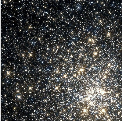 M28 globular cluster by the Hubble Space Telescope (credit:- NASA, The Hubble Heritage Team (AURA/STScI))