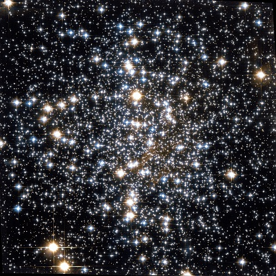 Messier 4 globular cluster by Hubble Space Telescope (credit:- NASA, The Hubble Heritage Team (AURA/STScI))