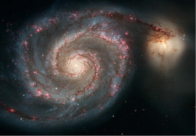 M51 The Whirlpool Galaxy (credit:- NASA/ESA/S. Beckwith STScI/AURA)