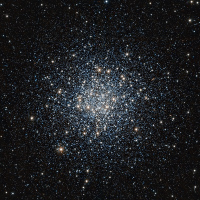 M55 globular cluster imaged in the infrared by the VISTA telescope (credit:- ESO/J. Emerson/VISTA)
