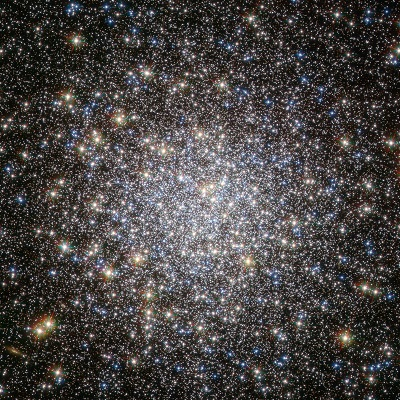 Messier 5 globular cluster by the Hubble Space Telescope (credit:- NASA, The Hubble Heritage Team (AURA/STScI))
