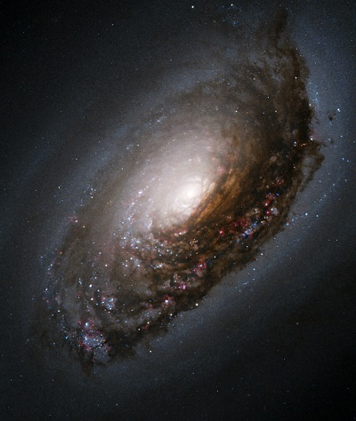 M64 The Black Eye Galaxy by the Hubble Space Telescope (NASA, The Hubble Heritage Team (AURA/STScI))