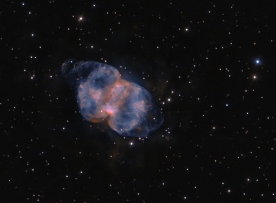 M76 The Little Dumbbell Nebula (Ken Crawford (Rancho Del Sol Obs.))