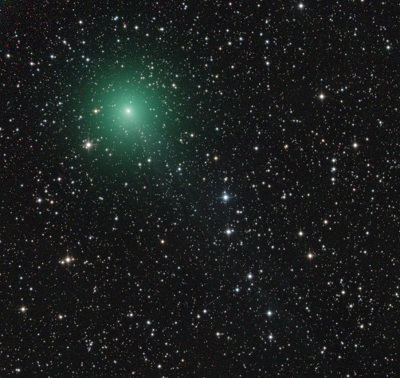 Comet C/2014 Q2 Lovejoy on November 26, 2014 (Jose Chambo/Siding Spring Obs. Australia)