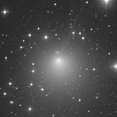 Comet Encke (2P/Encke) as imaged by the Spacewatch Telescope on Kitt Peak in 1994 (credit:- JPL/Jim Scotti)
