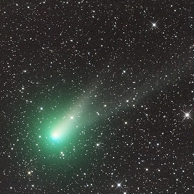 Comet Catalina (credit:- Ian Sharp/Siding Spring Observatory Australia)