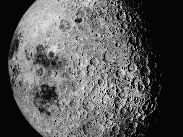 Far side of the Moon as photographed by Apollo 16 (NASA)