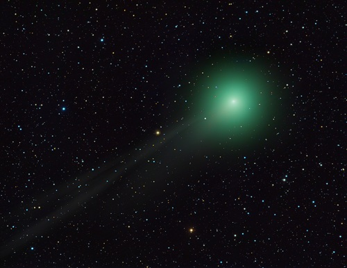 Comet C/2012 F6 (Lemmon) as it appeared on 28th January 2013 (Rolf Wahl Olsen - www.rolfolsenastrophotography.com)