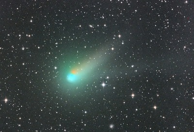 Comet Catalina on August 10, 2015 (credit - Kenny Astrom/Siding Spring)