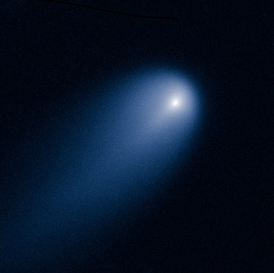 Comet ISON (C/2012 S1) as imaged by the Hubble Space Telescope on April 10, 2013 (NASA/ESA)