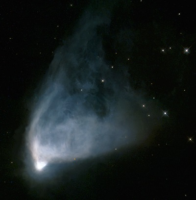 NGC 2261 - Hubble's Variable Nebula by the Hubble Space Telescope (credit:- NASA, The Hubble Heritage Team (AURA/STScI))
