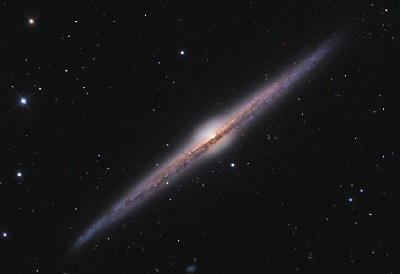 NGC 4565 (credit:- Ken Crawford)